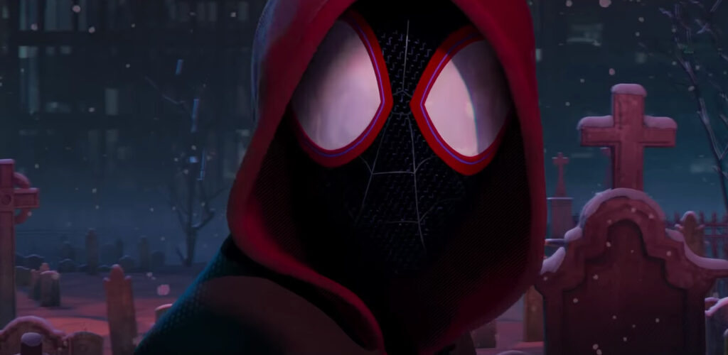 Into The Spider-Verse Hoodie and Shorts