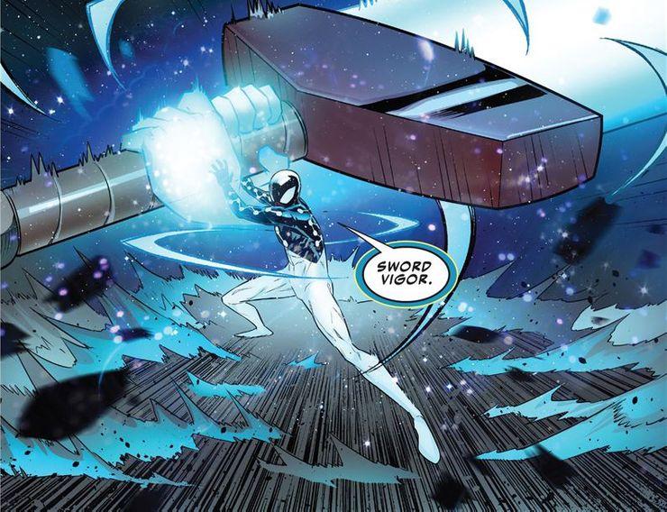 Miles Morales Captain Universe