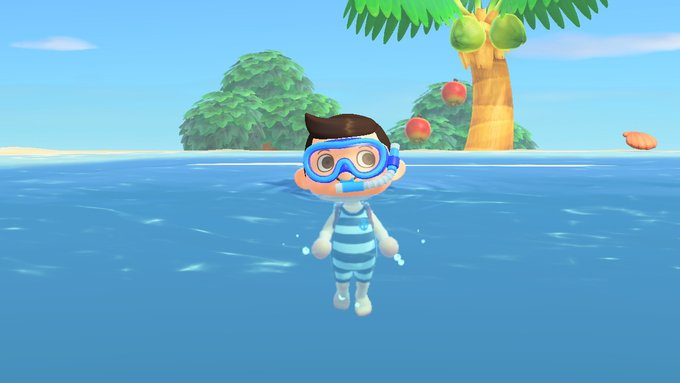 Animal Crossing New Horzons Summer Update
