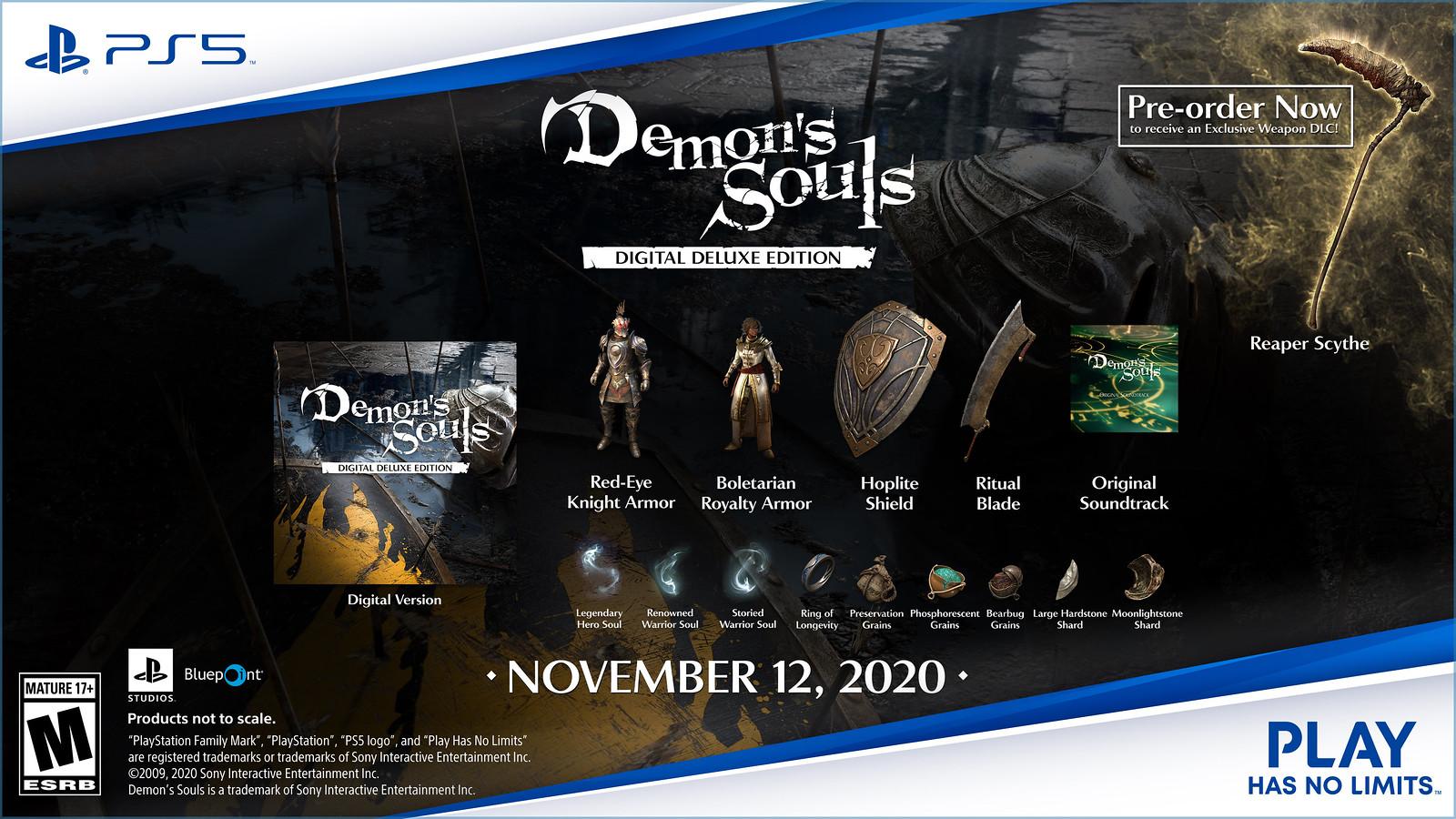 Demon's Souls Digital Deluxe Edition