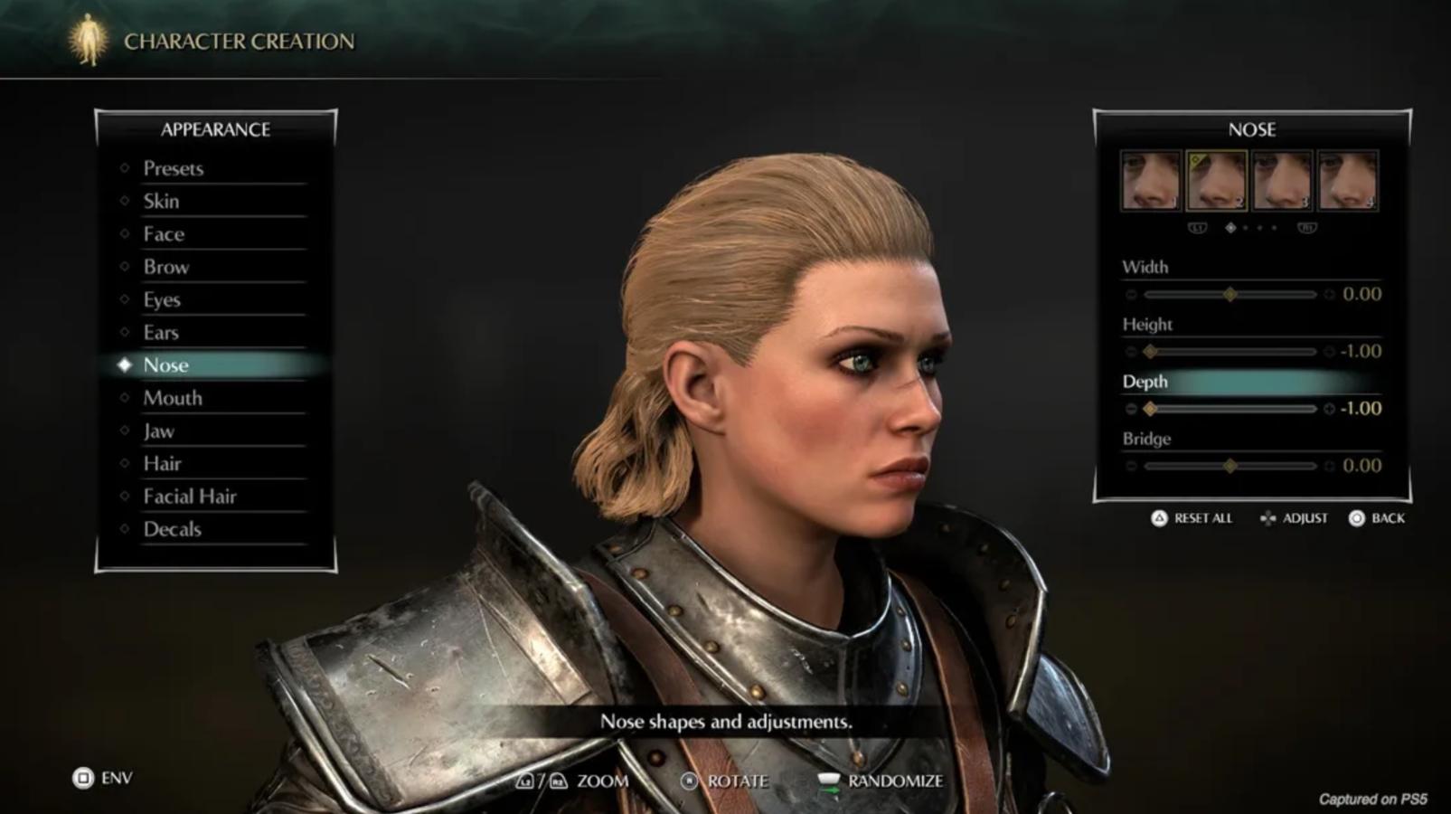 Demon's Souls Character Creator