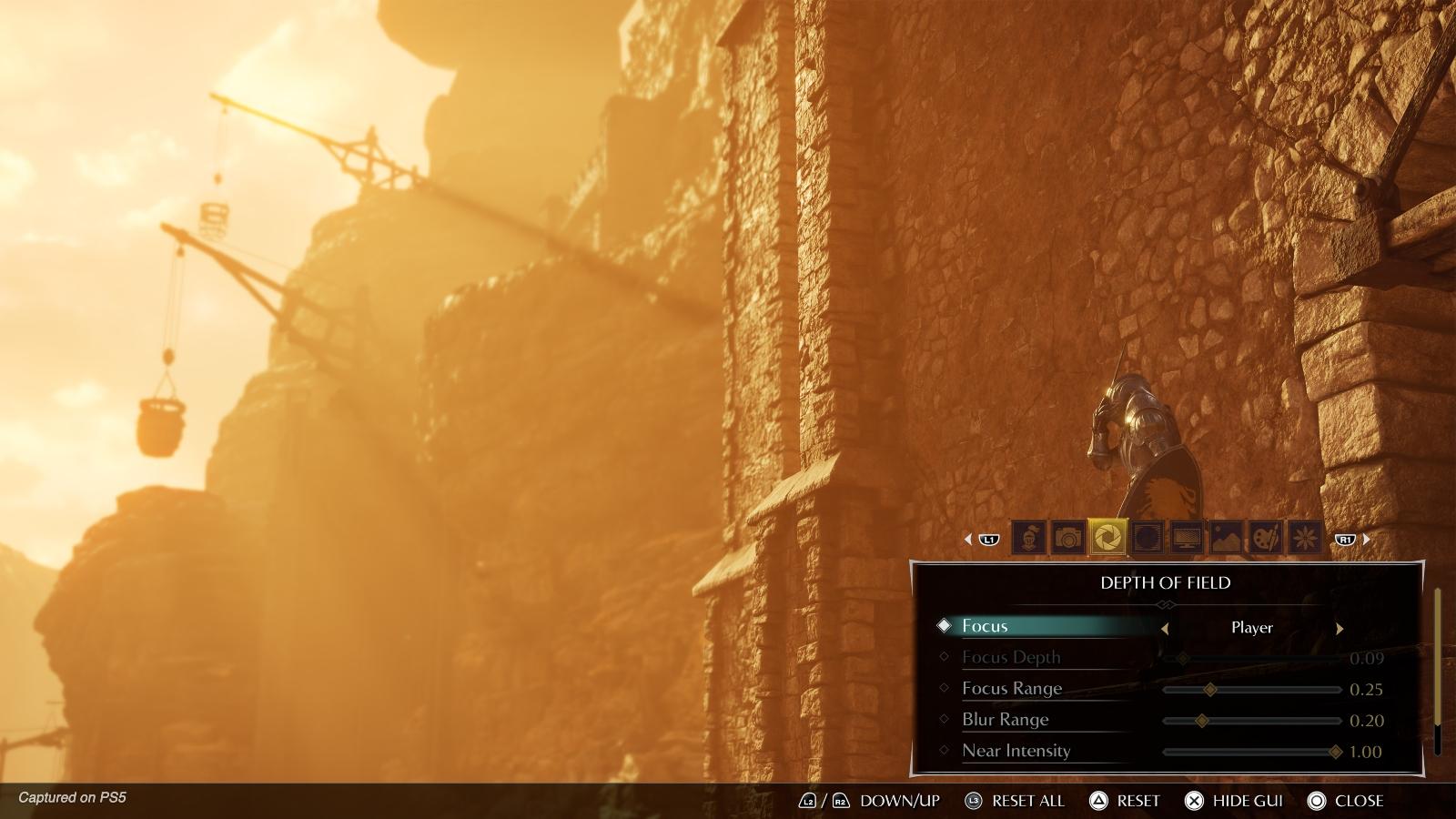 Demon's Souls Photo Mode