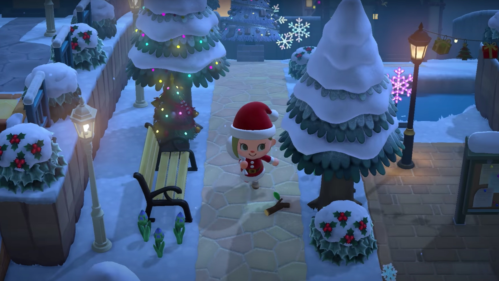 Animal Crossing: New Horizons Winter Update