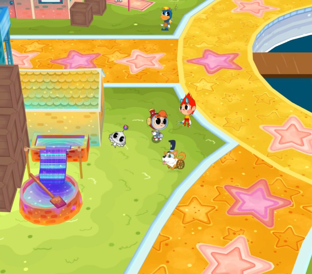 Rainbow Billy: The Curse Of The Leviathan Screenshot 3
